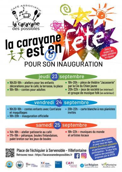 Programme inauguration 1